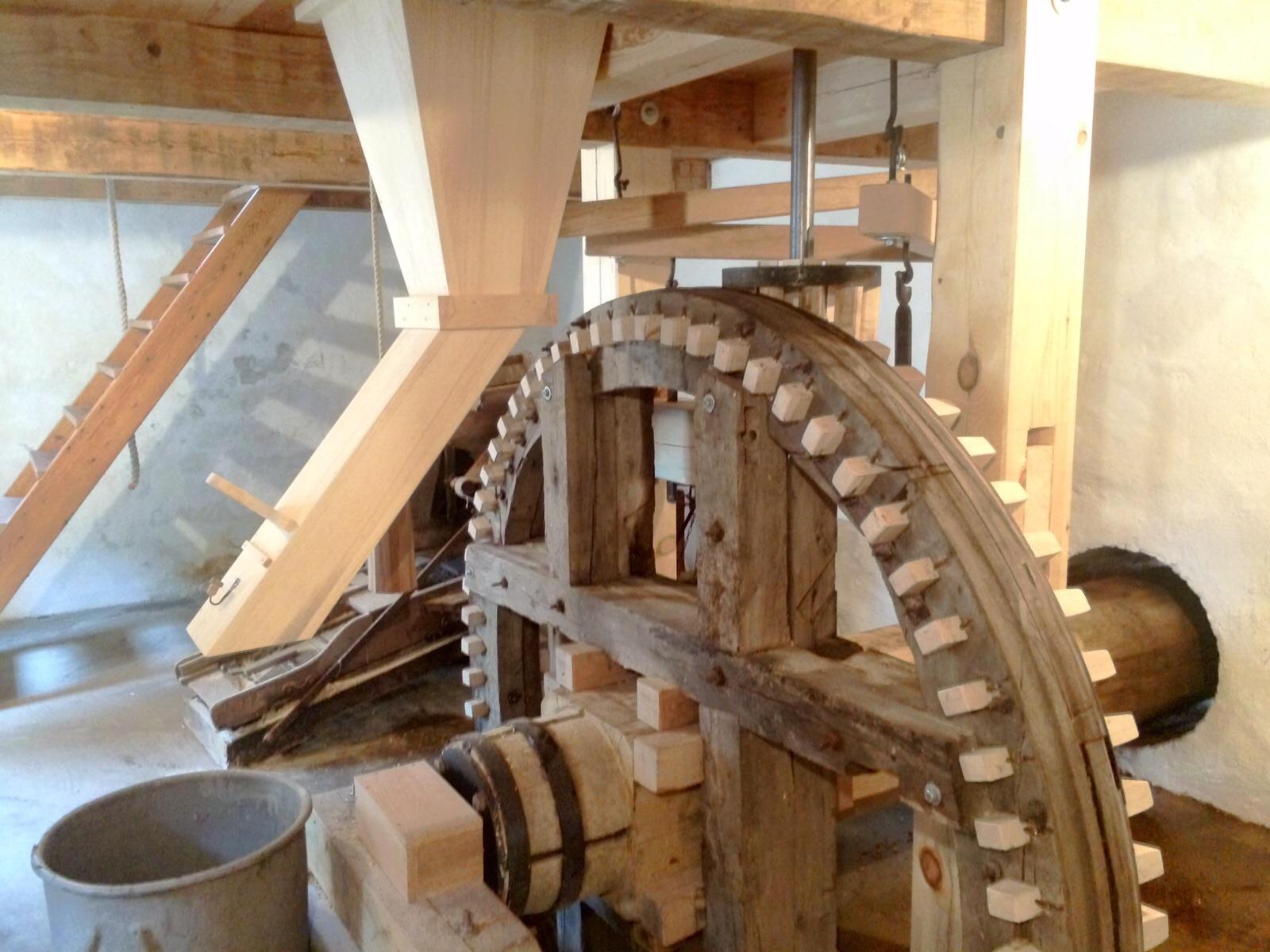 Kloster Vandmølle Indvendig hjul